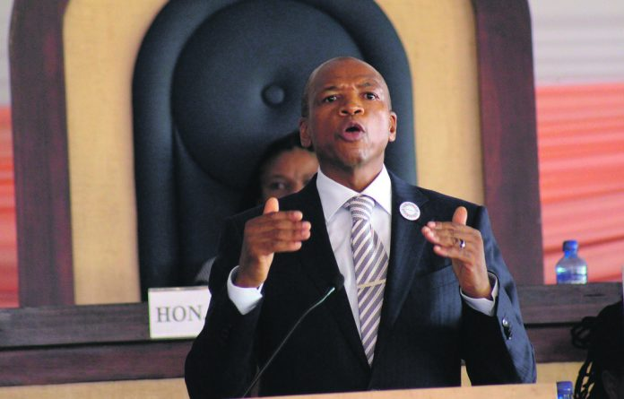 The DA's Gauteng premier candidate Mmusi Maimane.