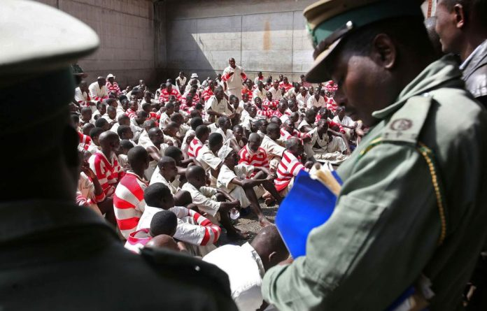 Prisoners in Zimbabwe endure shocking living conditions. Authorities say they face funding challenges to provide food and basic necessities.