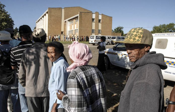 Lifeline: A huge number of South Africans are dependent in some way on people who receive a ­social grant.