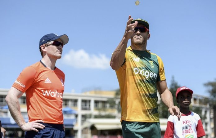 Take a chance: Proteas captain Faf du Plessis