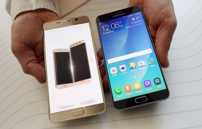 The New Samsung Note5.
