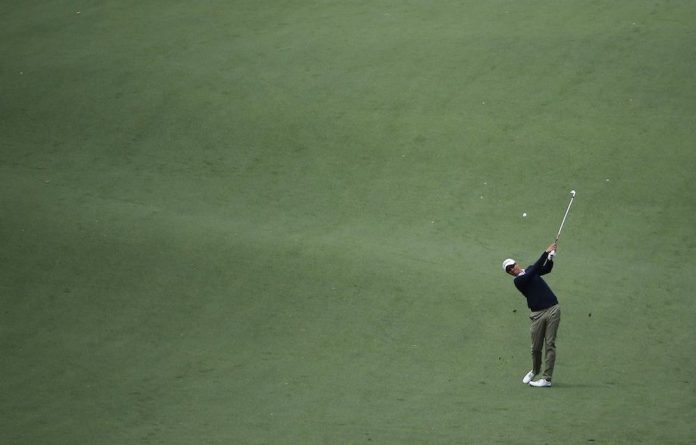 Adam Scott at the US Masters 2014 in Augusta
