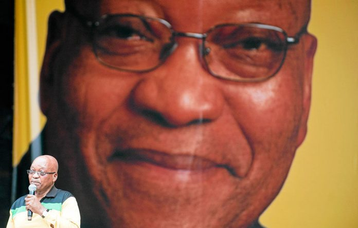 Face value: President Jacob Zuma has promised radical transformation by making a year of preschool compulsory