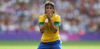 Santos striker Neymar.