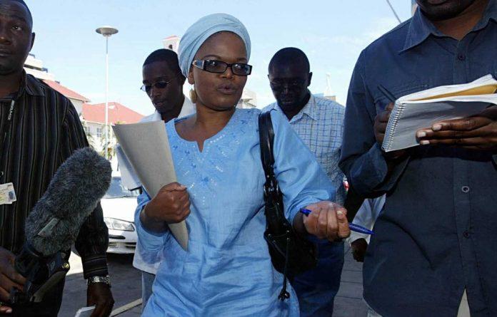 Human rights lawyer Beatrice Mtetwa.