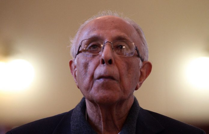 Former political prisoner Ahmed Kathrada's foundation is one of the applicants in the case against the Mazibuye African Forum.