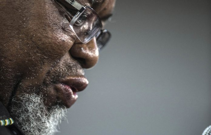 Brass tacks: Mineral Resources Minister Gwede Mantashe has the experience from his days as a miner