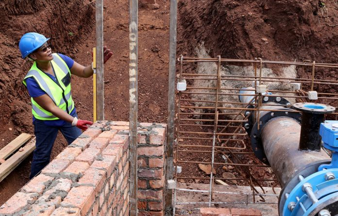 Khato Civils' projects have brought piped water to more than 50 villages in Giyani. Subcontractor Nkhensani Shabangu is growing into the industry.