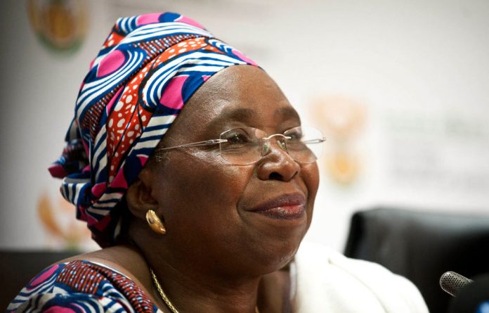 Chair of the African Union Commission Nkosazana Dlamini-Zuma.
