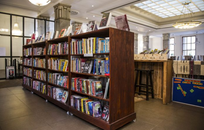 From backpack to book shop: Griffin Shea's Bridge Books in downtown Johannesburg