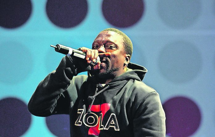 Zola performing at the Live Earth Concert at the Coca Cola Dome in Johannesburg on July 7 2007.