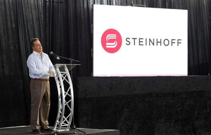 Marius Jooste of Steinhoff during the Springbok Sevens Steinhoff Sponsorship Launch at Markotter Indoor Facility.