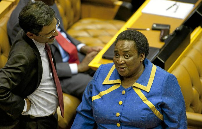 Labour Minister Mildred Oliphant.