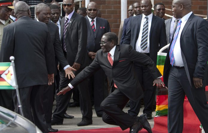 Mugabe appeared unaware he was repeating the same speech he gave during his State of the Nation address on August 25.