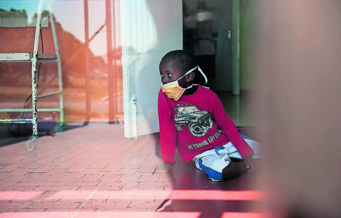 A child receives treatment at Cape Town's Brooklyn Chest Hospital. Thanks to guidance from South Africa's TB Think Tank