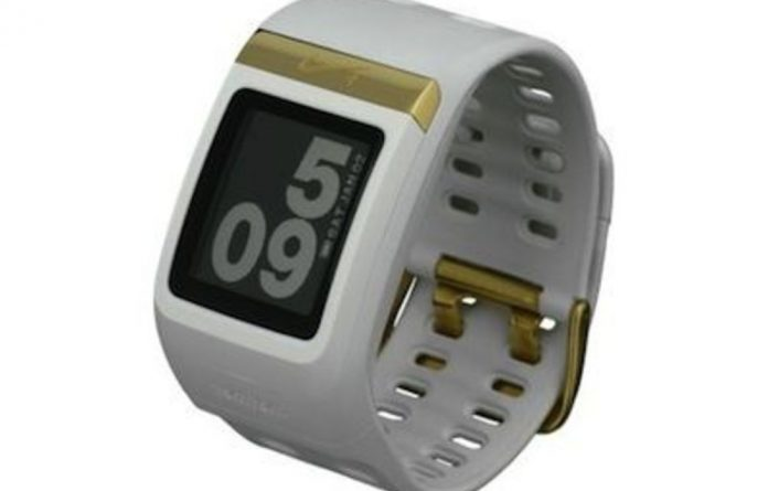 The Nike+ watch uses a standard LCD display and TomTom GPS functionality to monitor your pace