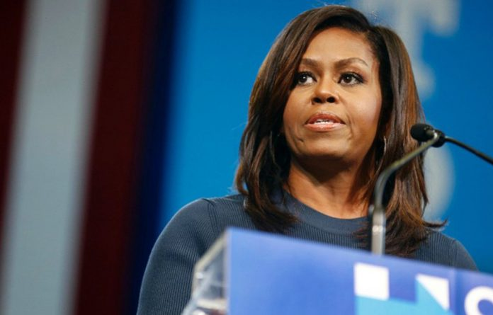 Michelle Obama - known as 'The Closer' - once more captured her audience in a powerful