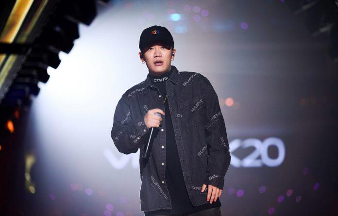 Chinese rap singer Wang Hao
