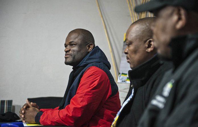 Newly elected ANC Northern Cape chair Zamani Saul.
