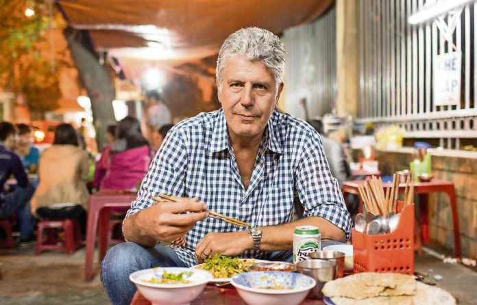 Anthony Bourdain seen here in his series 'Parts Unknown'.