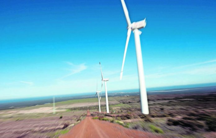 Alternatives: The City of Cape Town has been using the Darling wind farm in the Western Cape to meet its energy needs.
