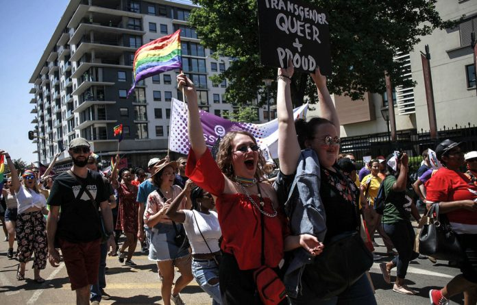 Place of Pride: The modern-day Johannesburg Pride march held at Melrose Arch and surrounds has more of a commercial party atmosphere than that of the more political inaugural march in 1990