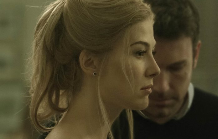 Compelling character: Rosamund Pike as Amy Dunne in 'Gone Girl'