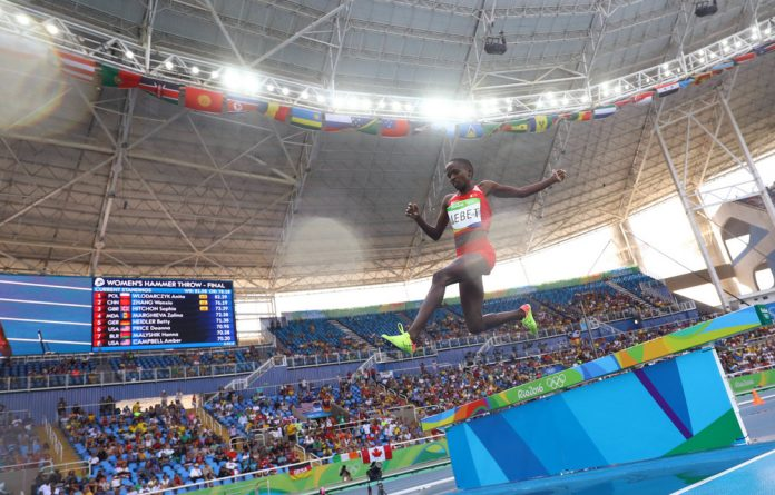Frustrated Kenyan athletes are willing to ditch the national flag. Kenyan-born Ruth Jebet represented Bahrain at the 2016 Rio Olympics.