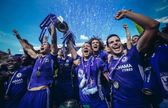Lose-lose: Less people are tuning in to watch their teams take home Premier League trophies on TV.