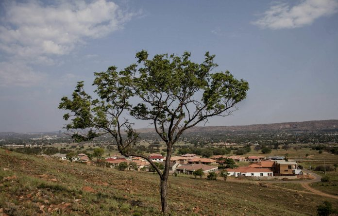 Renewal: Lady Selborne is being rebuilt on the slopes of the Magaliesberg after people's homes were bulldozed in the 1960s