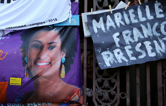Franco had made plenty of enemies on the right with her prominent accusations of police brutality in the favelas.