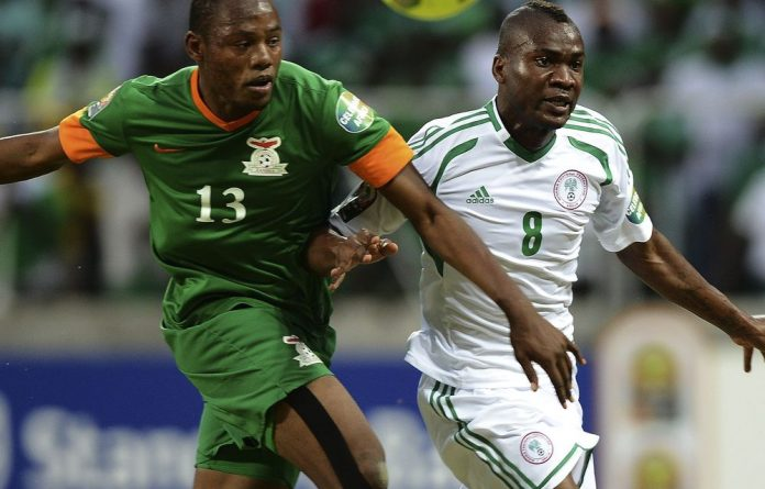 The draw left defending champions Zambia and Nigeria tied at the top of the mini-league.
