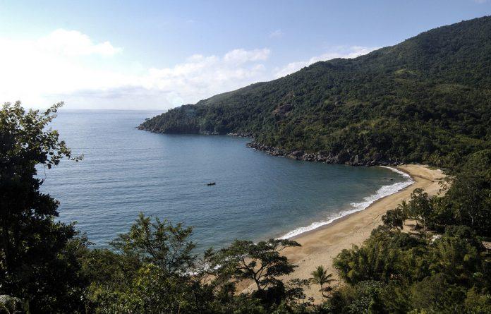Paradise: Jabaquara beach on Illhabela island in Brazil