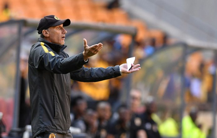 Former Kaizer Chiefs coach Giovanni Solinas was relieved of his duties four months into his three-year contract