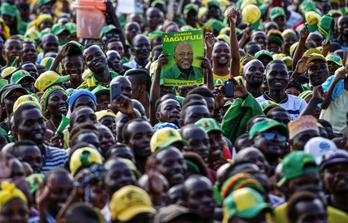 Repressive: John Magufuli ran for the presidency in 2015. He has swept out corrupt officials