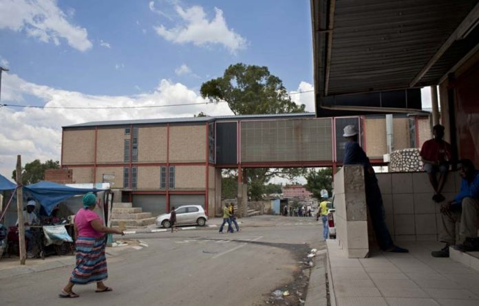 Across the road from Mandela's former home in Alexandra is the town's heritage centre