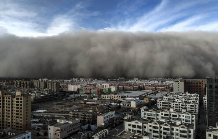 Eye of the storm: Unusual meterological events such as severe dust storms