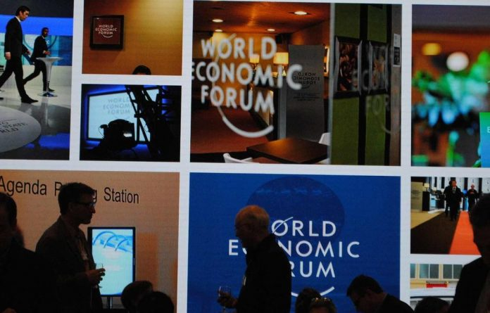 The World Economic Forum being held in Davos.