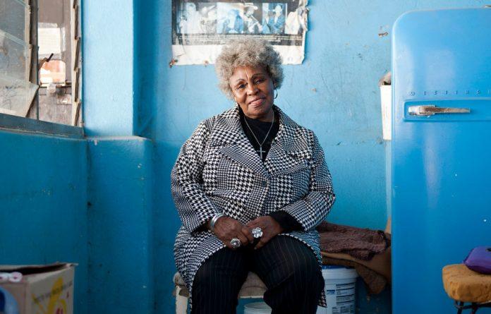 Singer Dorothy Masuka at 77.