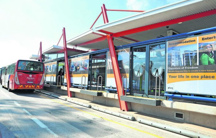 The Rea Vaya BRT system forms the backbone of the Corridors of Freedom