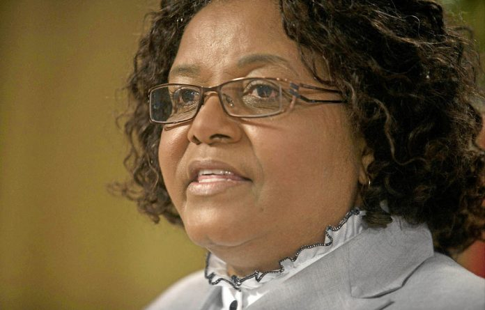 Environmental Affairs Minister Edna Molewa's campaign is a horn in conservationists' sides.