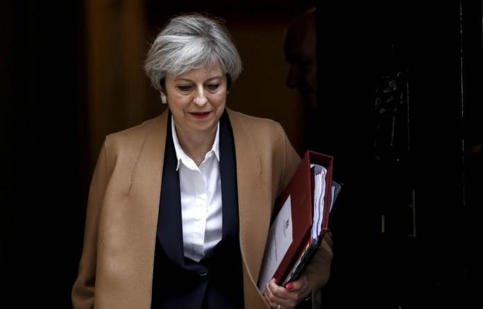 Out of the blue: Prime Minister Theresa May refuses to allow her political foes to imperil Britain's exit from the European Union