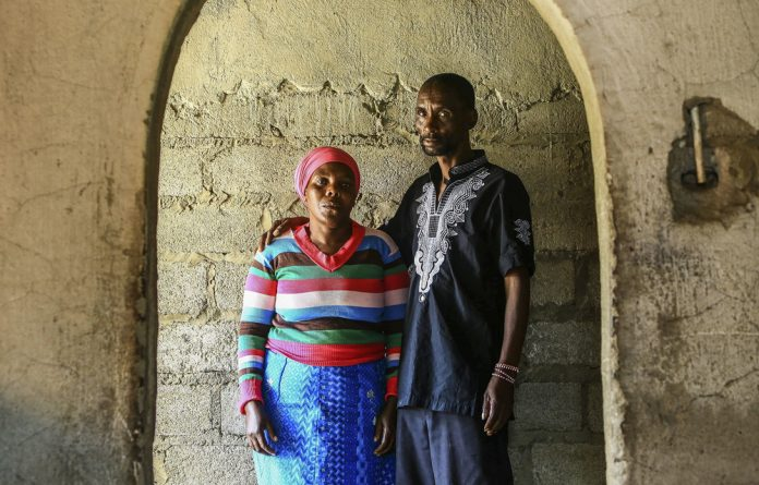 James and Rosina Komape relived in court the day their son fell into a pit latrine at his school in 2014.