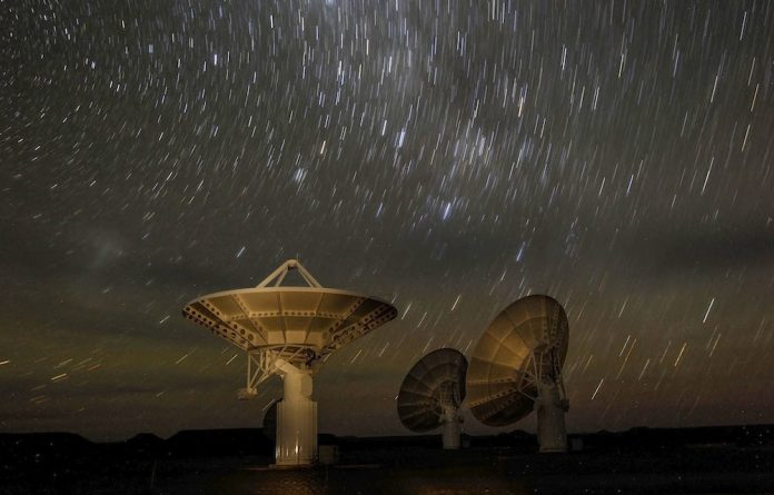Information overload: Bernie Fanaroff says the SKA is the ultimate big data machine – collecting a massive amount of radio data from celestial bodies.