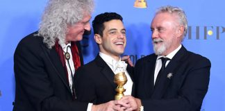 Best Actor in a Motion Picture Drama for 'Bohemian Rhapsody' winner Rami Malek