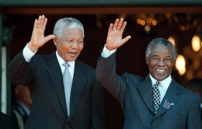 Nelson Mandela and his successor Thabo Mbeki presided over the halcyon days of South Africa's new democracy.