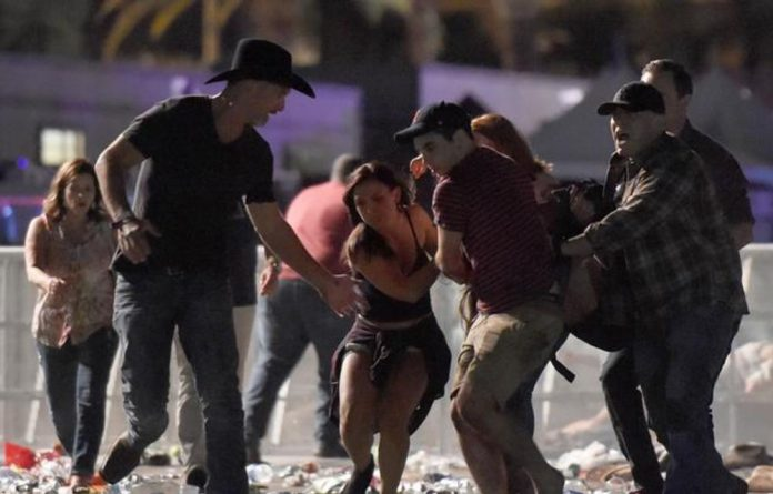 Heavy shooting at a concert in Las Vegas has resulted in mass casualties