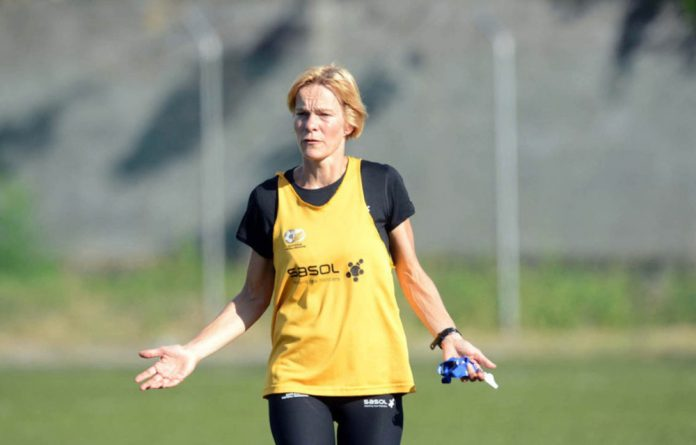 Banyana Banyana's Dutch coach Vera Pauw is developing a style to suit the players' abilities.