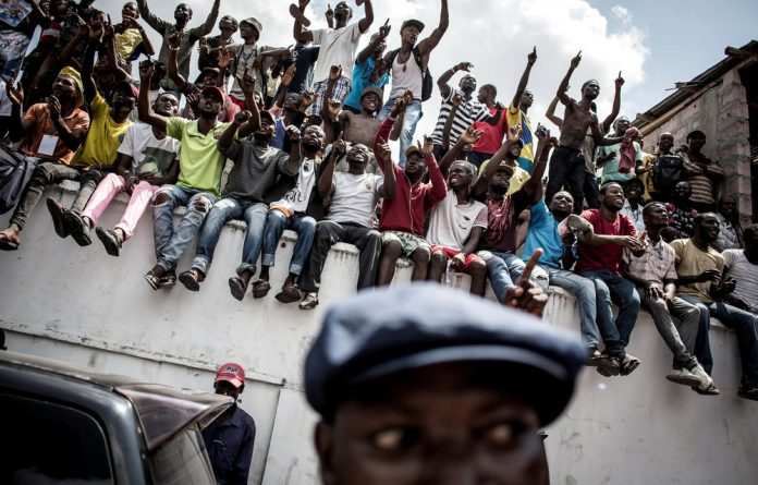 Expectations: Elections were held in the Democratic Republic of Congo on December 30