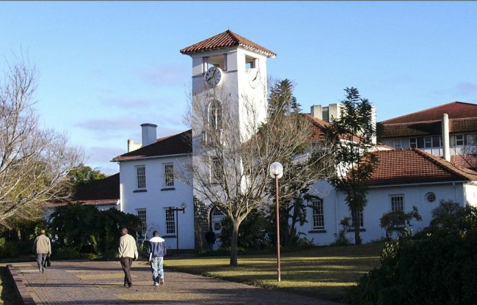 The University of Fort Hare's Alice campus